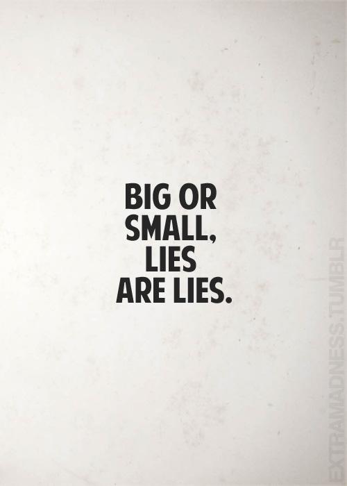 BigorSmallLies